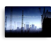 Growth in the City Canvas Print