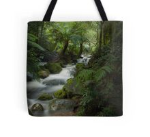 Rainforest falls #1 Tote Bag