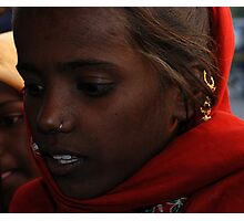 Jaipur Girl Photographic Print