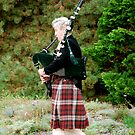 A Lone Piper! by Carol Clifford