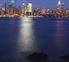 NYC from NJ side! by Noel Moore Up The Banner Photography