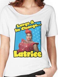 Large & In Charge... Latrice! Women's Relaxed Fit T-Shirt