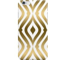Fold And White Geometric Pattern Teardrop Pattern iPhone Case/Skin