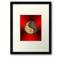 Aries & Rabbit Yin Earth Framed Print