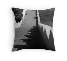 The steps Throw Pillow