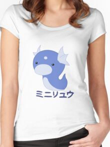 Dratini Kawaii Women's Fitted Scoop T-Shirt