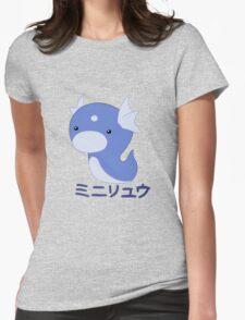 Dratini Kawaii Womens Fitted T-Shirt