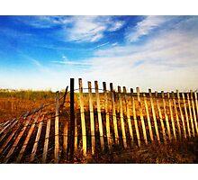 Broken Barrier Photographic Print