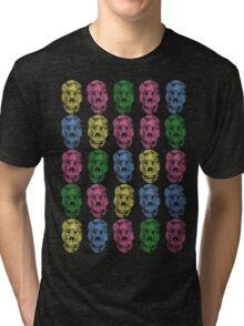 Zombie Patterns Version 1 Tri-blend T-Shirt