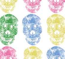 Zombie Patterns Version 1 Sticker