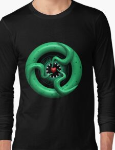 Cthulhu Heart Long Sleeve T-Shirt