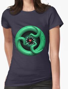 Cthulhu Heart Womens Fitted T-Shirt