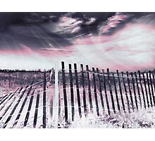 Broken Barrier - Fourth Dimension Photographic Print