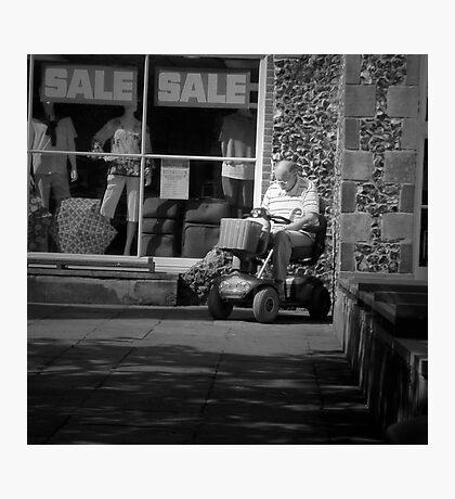 Shop Til You Drop Photographic Print