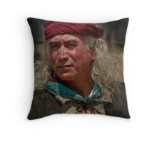 Geronimo's kin Throw Pillow