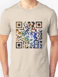 QR Code Galaxy Eagle Unisex T-Shirt