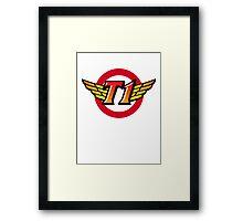 SKT T1 Framed Print
