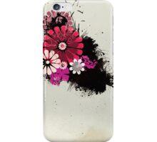 Grunge Flowers iPhone Case/Skin