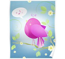 Bird Song ... Poster