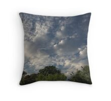 August Sky Throw Pillow