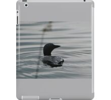 Canadian Loon Silhouette iPad Case/Skin