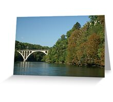 Jonction bridge Greeting Card