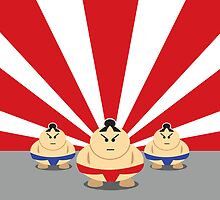 Tokyo Sumo by Pete Marshall