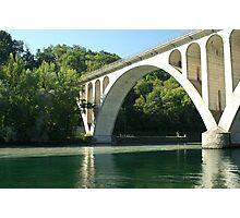Jonction bridge Photographic Print