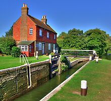 Stoke Lock - HDR by Colin  Williams Photography
