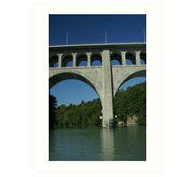 Butin bridge Art Print