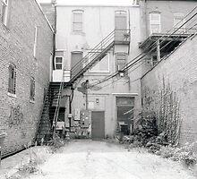 Alley Back Door by Sgaugs