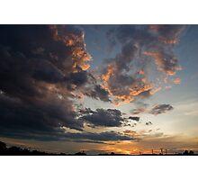 Semi-Epic Sunset Photographic Print