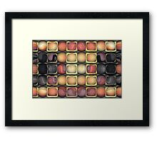 Square Holes, Round Pegs Framed Print
