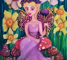 Amethyst Fairy Queen  by Candace Byington
