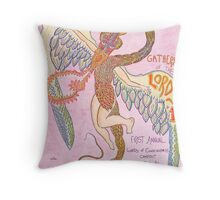 LOC Campout Flyer Throw Pillow