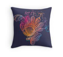 A new species has emerged - the Rainbododo! Throw Pillow