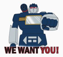 Transformers - We Want You - Decepticons Kids Tee