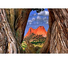Garden of the Gods / Morning Parallel's Photographic Print