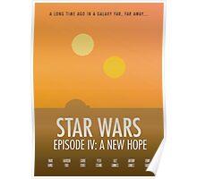 Star Wars Minimalism Poster