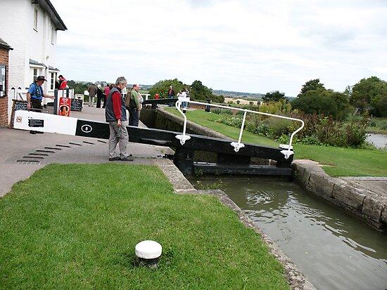 Foxton Locks, Leicestershire (5122) by Tony Payne