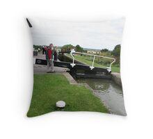 Foxton Locks, Leicestershire (5122) Throw Pillow