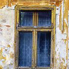 OLD YELLOW WINDOW by Rada