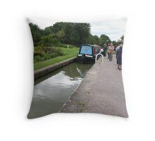 Foxton Locks, Leicestershire (5128) Throw Pillow
