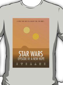 Star Wars Minimalism T-Shirt