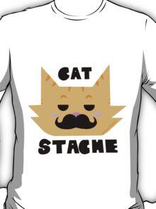 CAT STACHE [ DESIGN ] T-Shirt