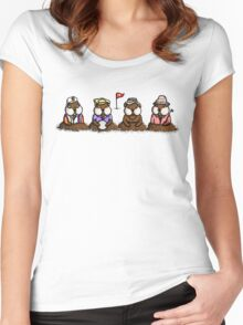 The Bane of Bushwood  Women's Fitted Scoop T-Shirt