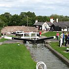 Foxton Locks, Leicestershire (5143) by Tony Payne
