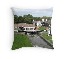 Foxton Locks, Leicestershire (5143) Throw Pillow