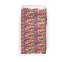 Multicolor Abstract Watercolor by Candace Byington Duvet Cover