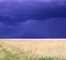 Storm on the Santa Fe Trail by TWindDancer